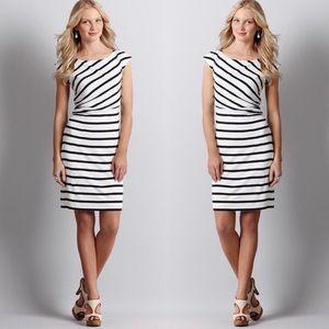 ▪️Striped Ann Taylor Dress